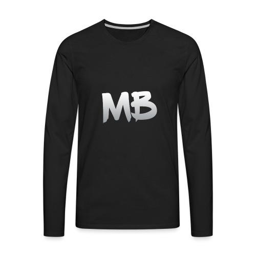 MB-YT (MIRANDA BOS - Mannen Premium shirt met lange mouwen