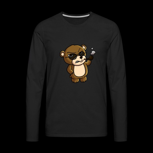 AngryTeddy - Men's Premium Longsleeve Shirt