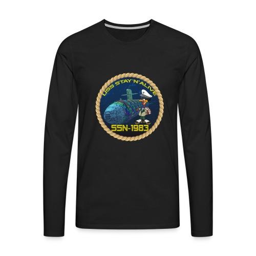Command Badge SSN-1983 - Men's Premium Longsleeve Shirt