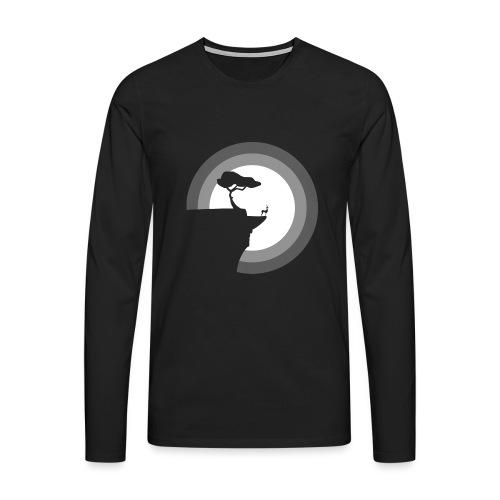 La pleine lune - T-shirt manches longues Premium Homme