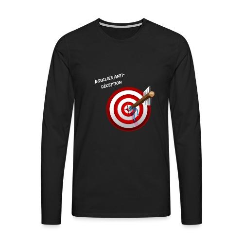 Bouclier anti-déception - T-shirt manches longues Premium Homme