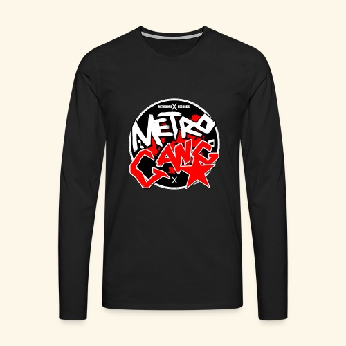 METRO GANG LIFESTYLE - Men's Premium Longsleeve Shirt