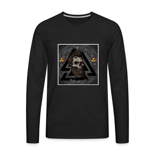 Vbc België - Mannen Premium shirt met lange mouwen