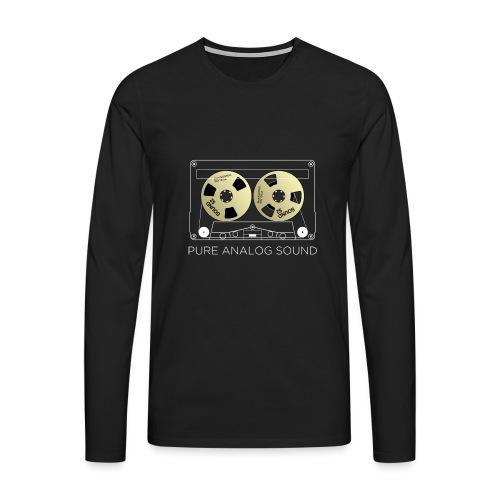 Reel golden cassette - Men's Premium Longsleeve Shirt