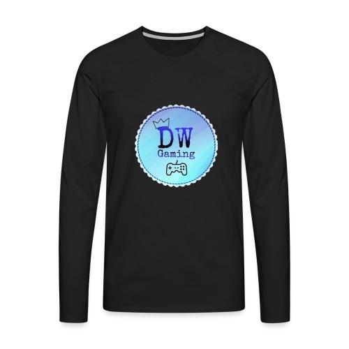 dw logo - Men's Premium Longsleeve Shirt