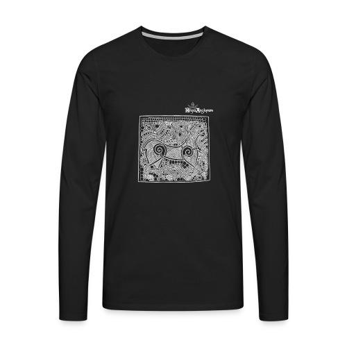 Regia TShirt Beastie White - Men's Premium Longsleeve Shirt