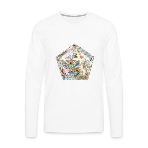 Pentagranuncolo - Maglietta Premium a manica lunga da uomo