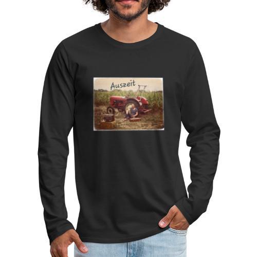Auszeit - Männer Premium Langarmshirt