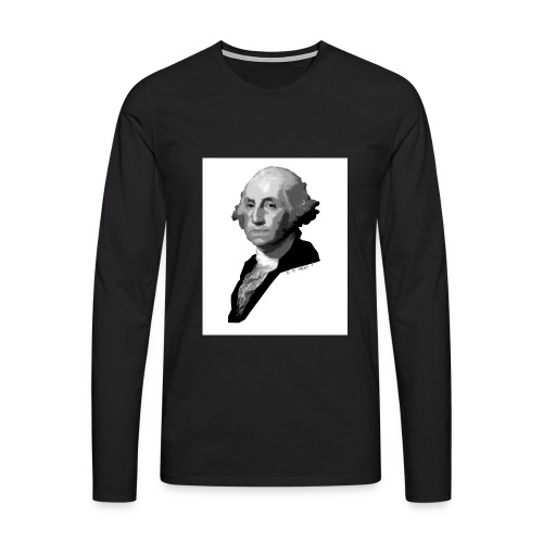 Washington. Is it Trolf? - Männer Premium Langarmshirt