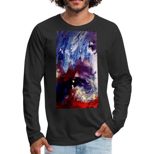 Ocean Vibes - Mannen Premium shirt met lange mouwen