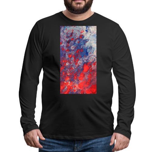 Fury - Mannen Premium shirt met lange mouwen