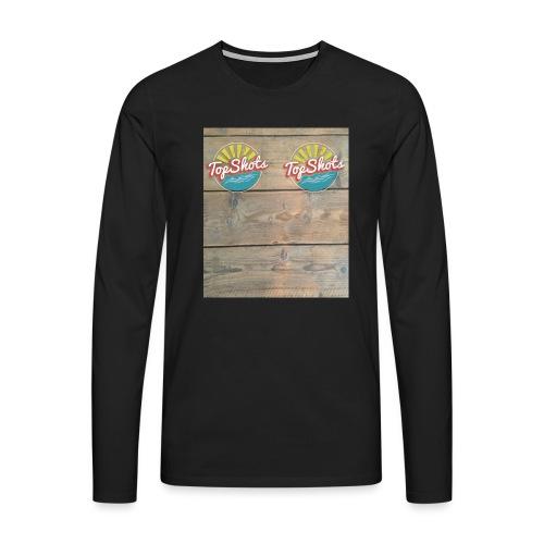 TenSlippers - Mannen Premium shirt met lange mouwen
