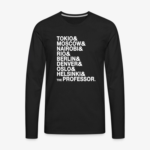 Casa di Carta - Donna Canottiera - Maglietta Premium a manica lunga da uomo