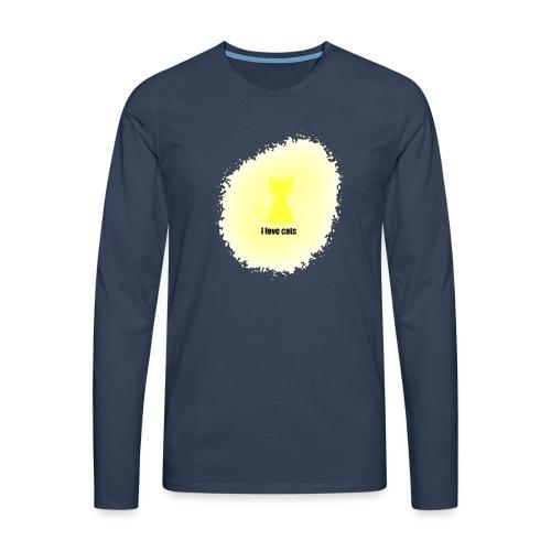 Sand cat - Men's Premium Longsleeve Shirt