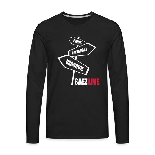 Varsovie (version light, par parek) - T-shirt manches longues Premium Homme