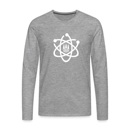 March for Science København logo - Men's Premium Longsleeve Shirt