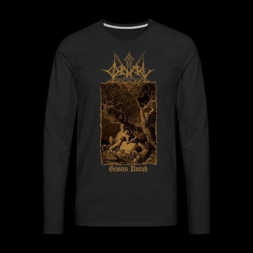 GU FRONT png - Männer Premium Langarmshirt