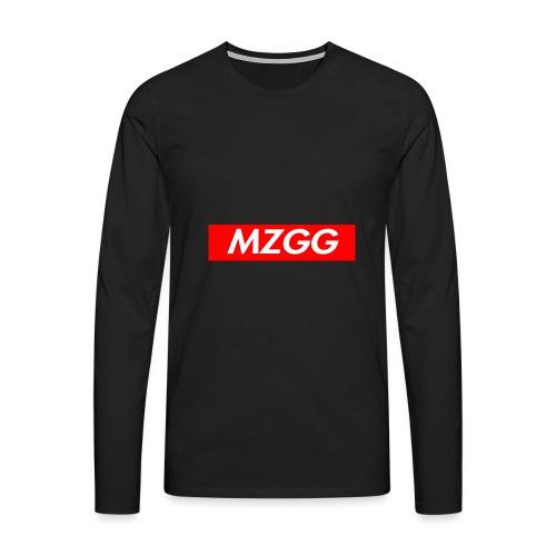 MZGG FIRST - Långärmad premium-T-shirt herr