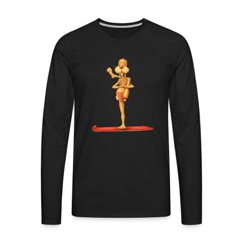 Yoga - Rabbit - Männer Premium Langarmshirt