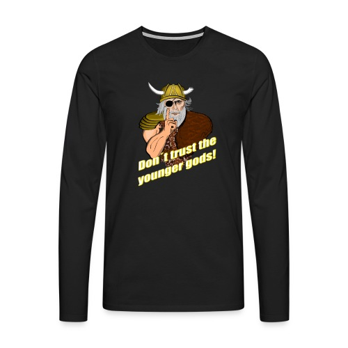 Rat eines alten Gottes - Männer Premium Langarmshirt