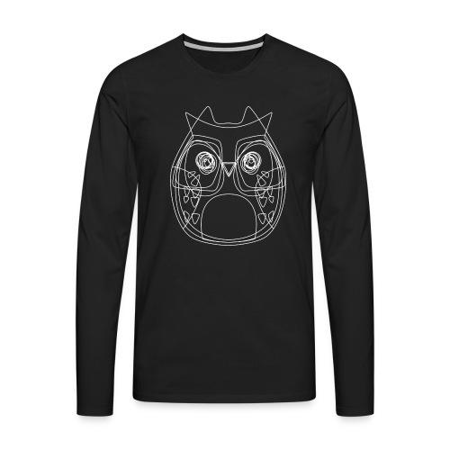 Owls - Männer Premium Langarmshirt