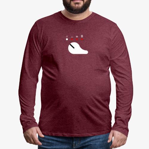 Sélecteur de tir blanc (Scorpion) - T-shirt manches longues Premium Homme