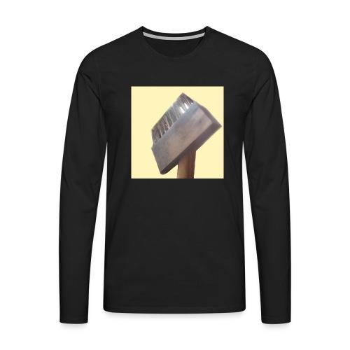 Klausens Unkrautbürste - Männer Premium Langarmshirt