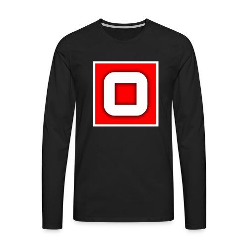 Vanlig Logo (tonåring) - Långärmad premium-T-shirt herr