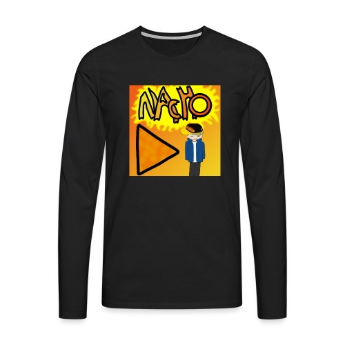 Nacho Title with Little guy - Men's Premium Longsleeve Shirt