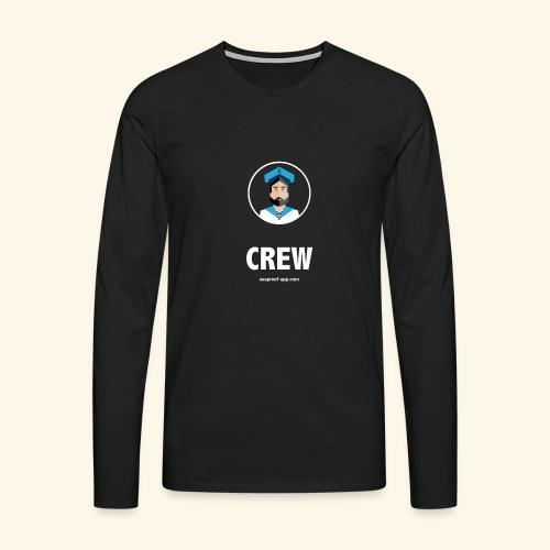 SeaProof Crew - Männer Premium Langarmshirt