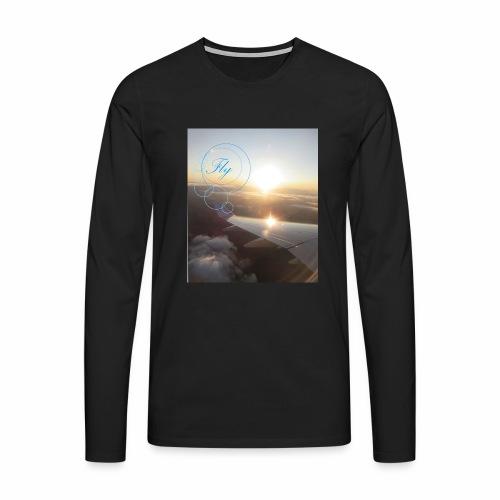 Fly - Mannen Premium shirt met lange mouwen