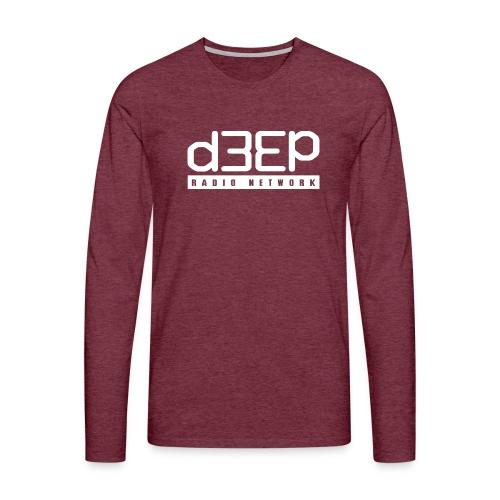 d3ep full white png - Men's Premium Longsleeve Shirt