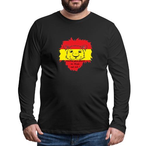 Lion supporter Espagne - T-shirt manches longues Premium Homme