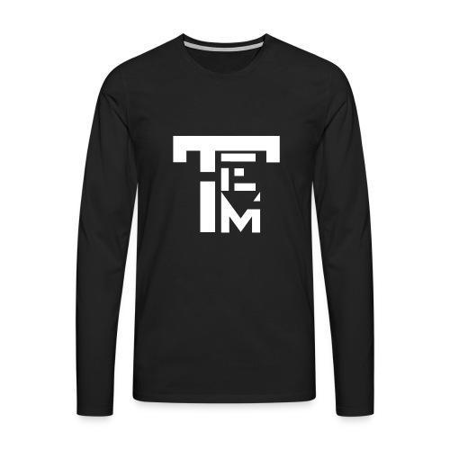 TEM WHITE - T-shirt manches longues Premium Homme