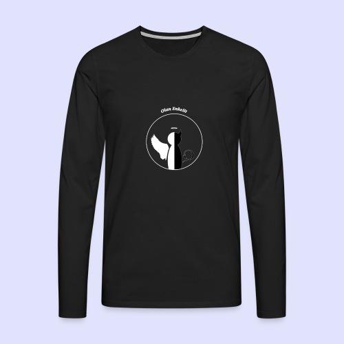olanenkeli - Miesten premium pitkähihainen t-paita