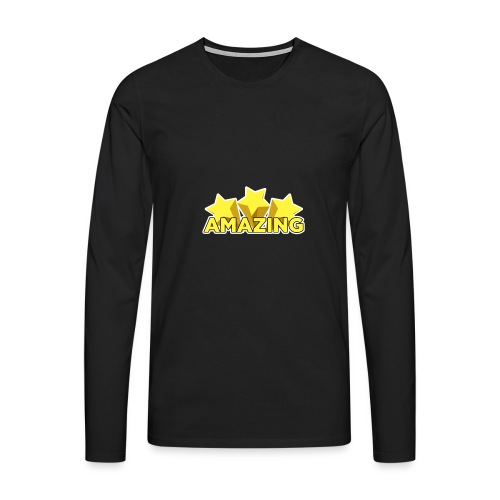 Amazing - Men's Premium Longsleeve Shirt