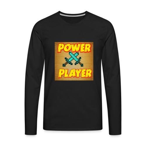 NUOVA LINEA POWER PLAYER - Maglietta Premium a manica lunga da uomo