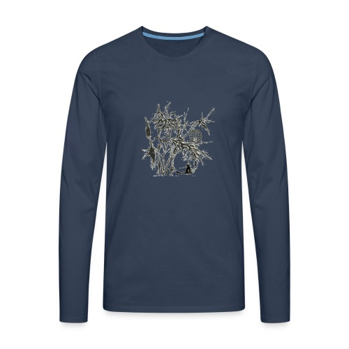 bambou4 GIF - T-shirt manches longues Premium Homme