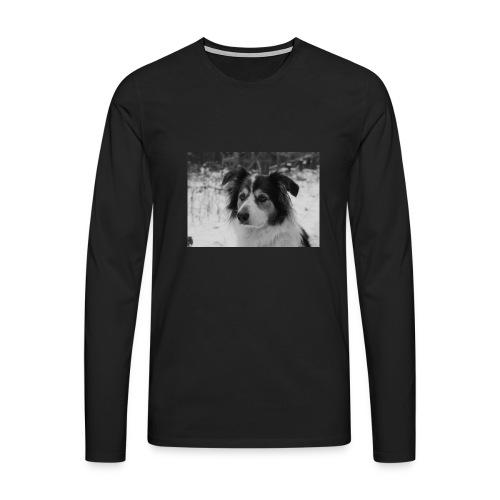 Skippy Winter - Männer Premium Langarmshirt