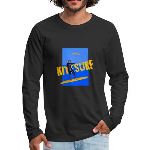 KITESURF HOMME - T-shirt manches longues Premium Homme