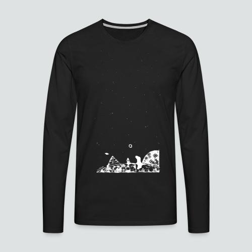 Hipster Labuversum png - Männer Premium Langarmshirt