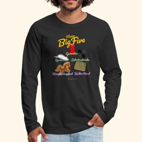Geek T-Shirt Big Five - Männer Premium Langarmshirt