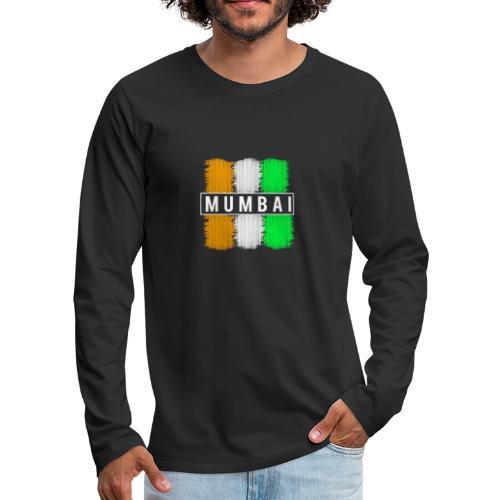 Mumbai Design. Modern und trendy - Männer Premium Langarmshirt