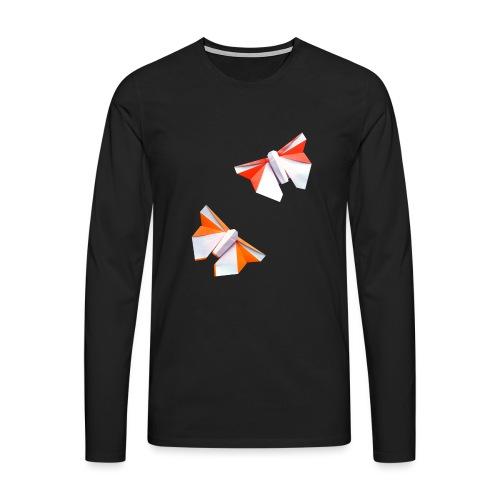 Butterflies Origami - Butterflies - Mariposas - Men's Premium Longsleeve Shirt