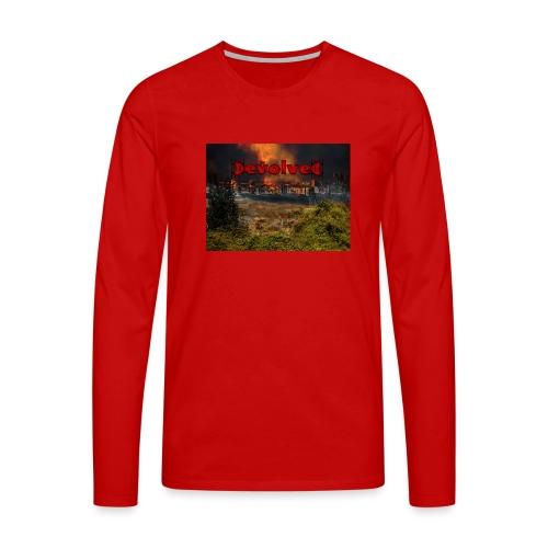 The Devolved Long TS1 - Men's Premium Longsleeve Shirt