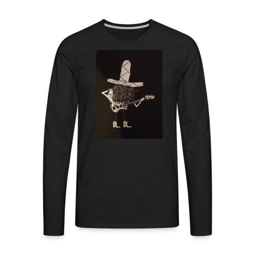 Mexican Bass Player - Men's Premium Longsleeve Shirt