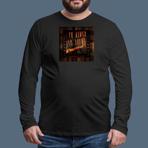 Talfho Logo Vintage Saison 3 - T-shirt manches longues Premium Homme