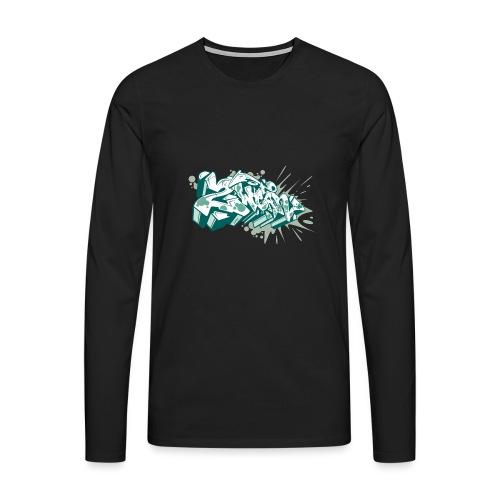 2Wear Graffiti style - Herre premium T-shirt med lange ærmer