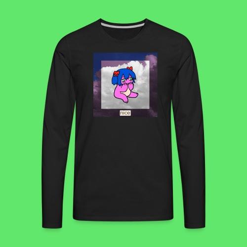 le nice girl - Men's Premium Longsleeve Shirt
