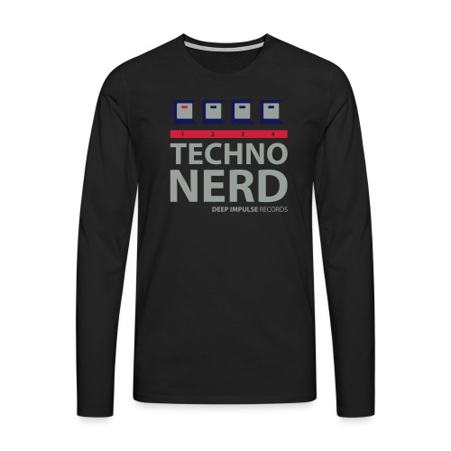 Techno Nerd - Men's Premium Longsleeve Shirt